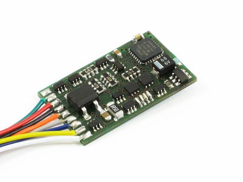 Lokdecoder Standard+ V2, 1,0A, mit NEM 652 Schnittstelle