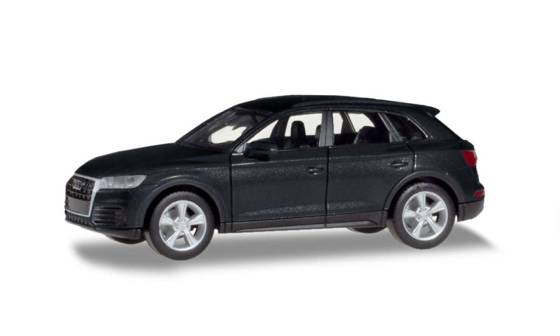 Audi Q5, manhattangrau metallic, 1:87 / Spur H0