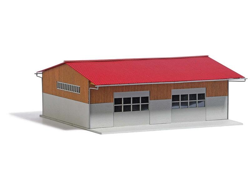 Moderne Bergehalle Bausatz, Spur H0