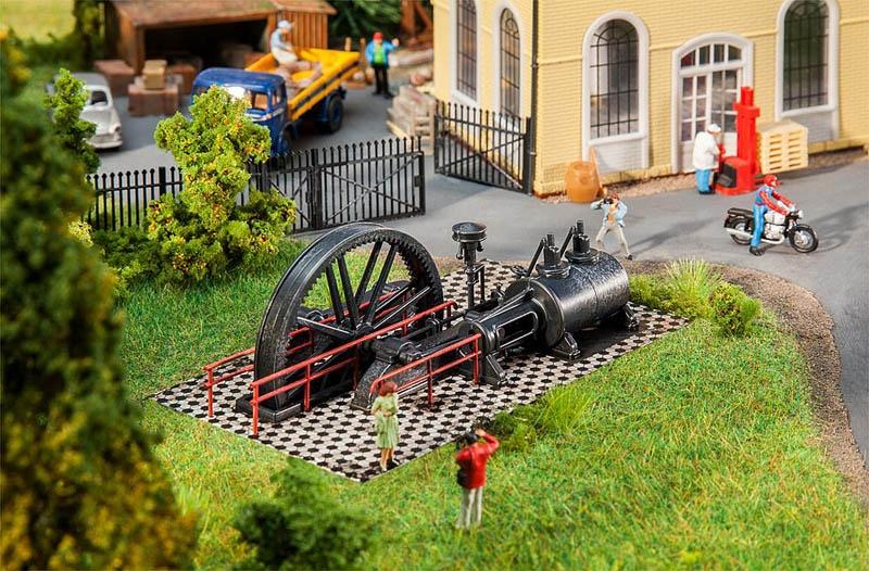 Kleine Dampfmaschine Bausatz H0