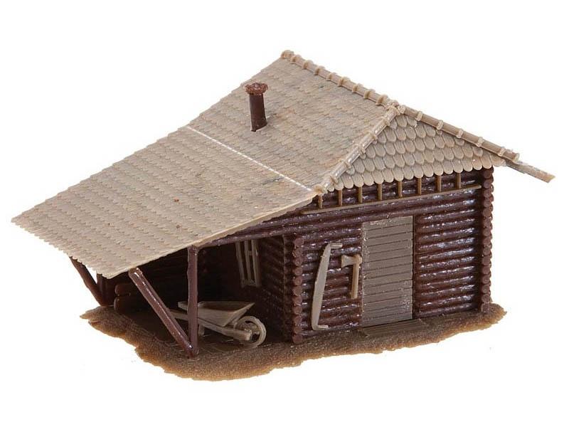 Berghütte Bausatz H0