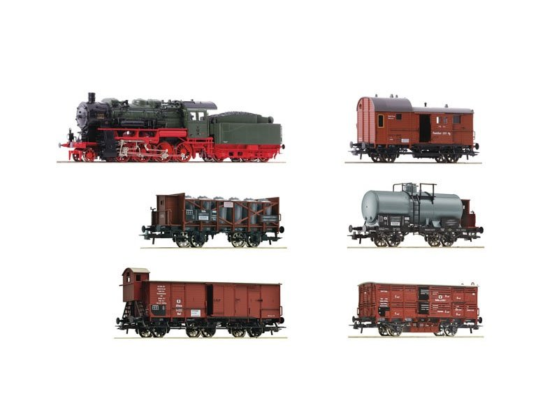 Jahreszug 2021 Preußischer Güterzug 6-tlg., DCC, Spur N