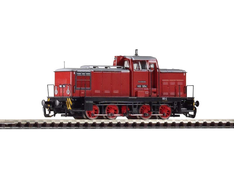 Diesellok V 60.10 der DR, Epoche III, Spur TT