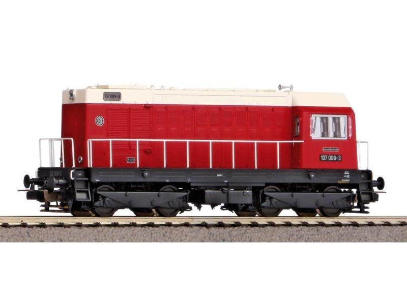 Diesellok BR 107 der DR, Ep. IV, DC, Spur H0