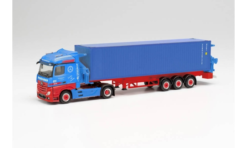 MB Actros Container-Seitenlader Frankenbach, 1:87 / H0