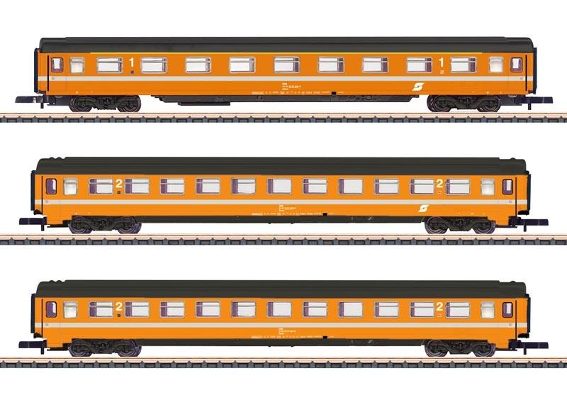 Reisezugwagen-Set Eurofima der ÖBB, Spur Z