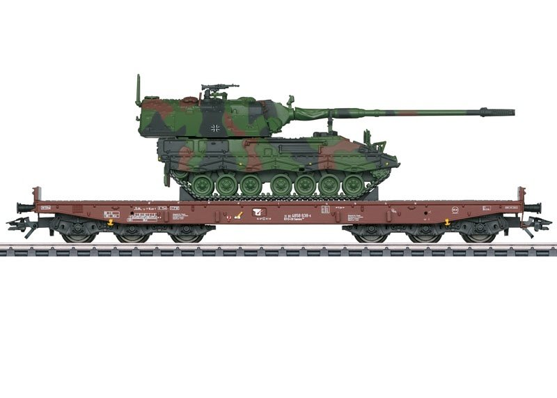 Schwerlastwagen Samms 709 der DB AG, AC, Spur H0