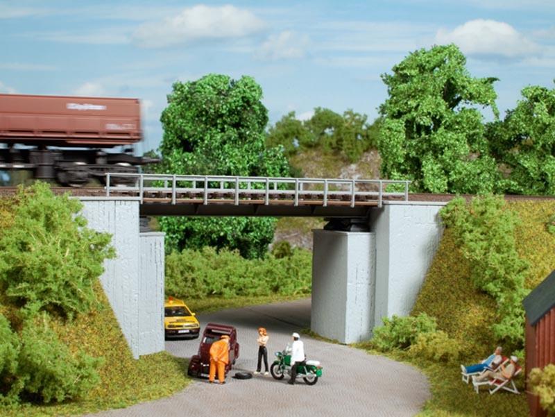 Kleine Brücke, Bausatz, Spur H0 / Spur TT