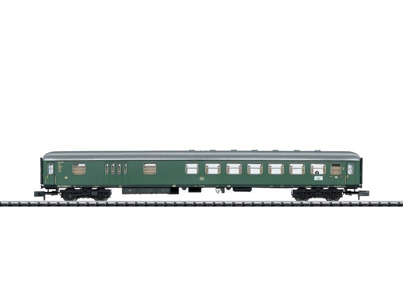 Schnellzugwagen BD4üm-61 mit Gepäckraum, DB, Minitrix Spur N