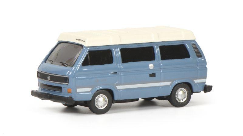 VW T3b Joker, blau, 1:87 / H0