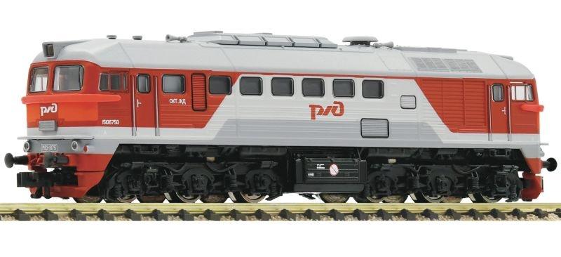 Diesellokomotive M62 der RZD, Sound, Spur N