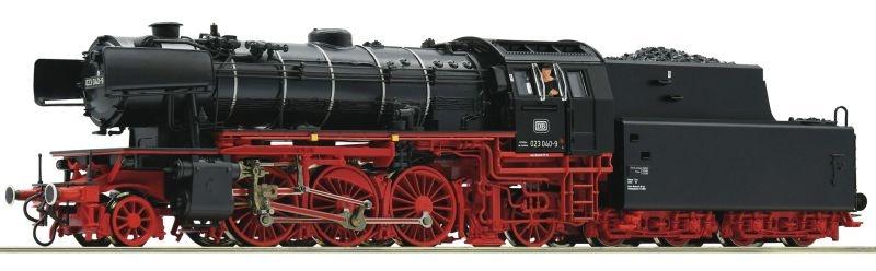 Dampflokomotive BR 023 der DB, DC, Spur H0