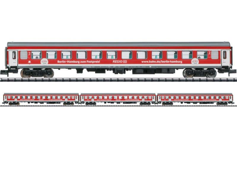 Schnellzug-Wagenset Berlin - Hamburg-Express DB AG Spur N