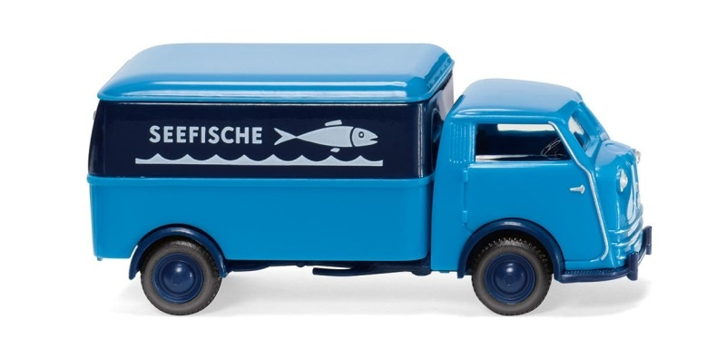 Tempo Matador Kastenwagen, Seefische, 1:87, H0