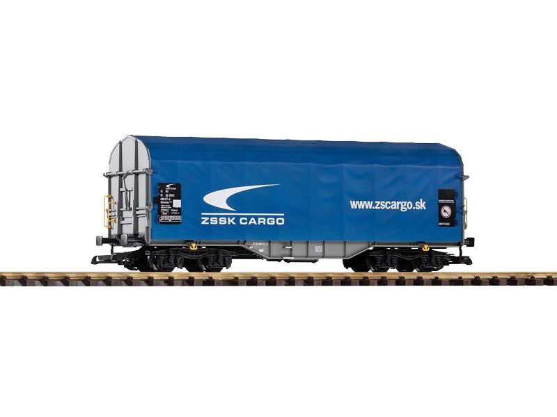 Schiebeplanenwagen Shimmns der Zssk Cargo, Epoche VI, Spur G