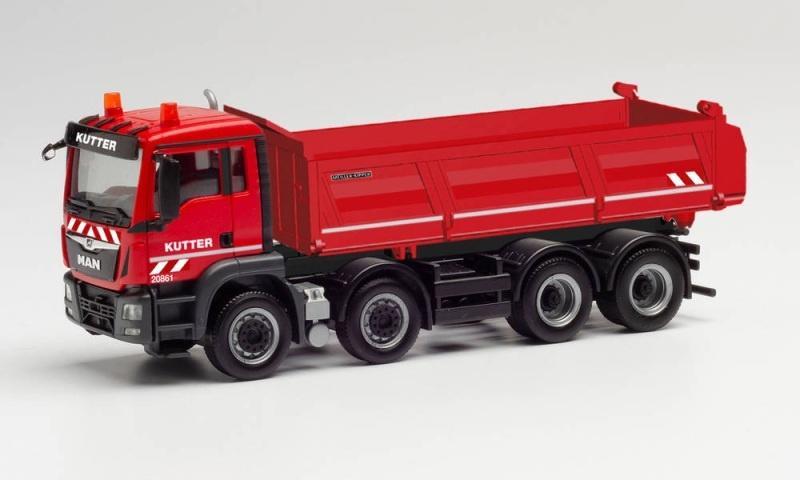 MAG TGS M Meiller-Baukipper 4-Achs Kutter, 1:87 / Spur H0