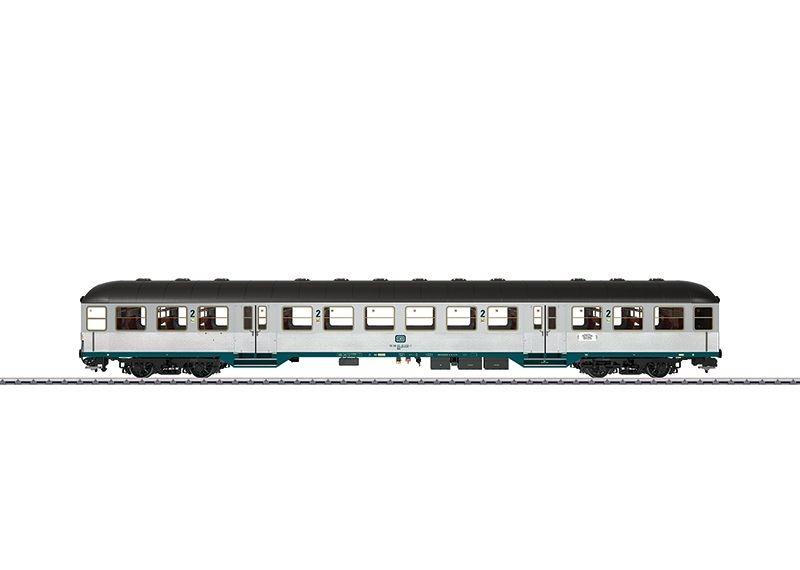 Nahverkehrswagen 2. Kl. Silberling der DB, Ep. IV, Spur 1