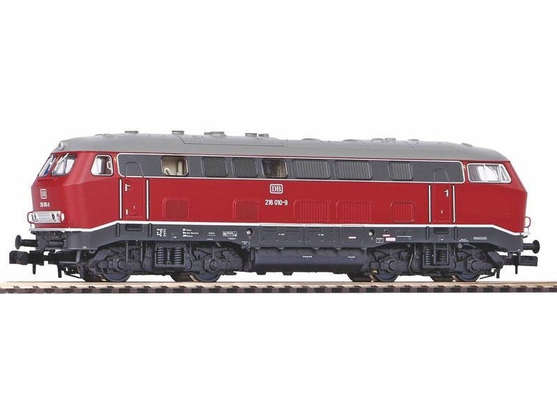 Diesellokomotive 216 010 der DB, Ep. IV, Spur N