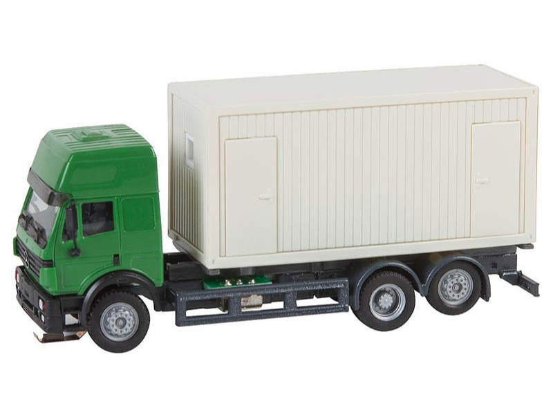 LKW MB SK94 Baucontainer Car System (HERPA) H0