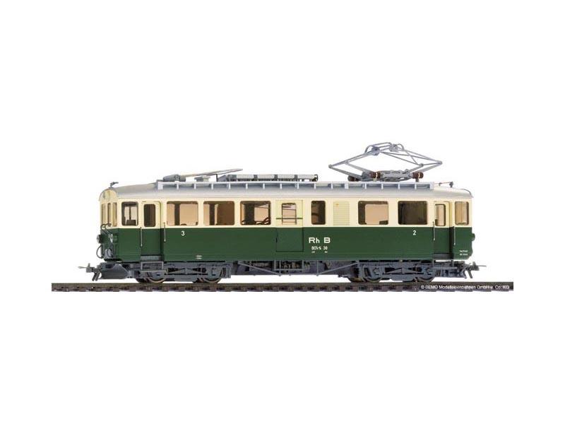 ABe 4/4 38 Berninatriebwagen grün/beige der RhB, Spur H0m