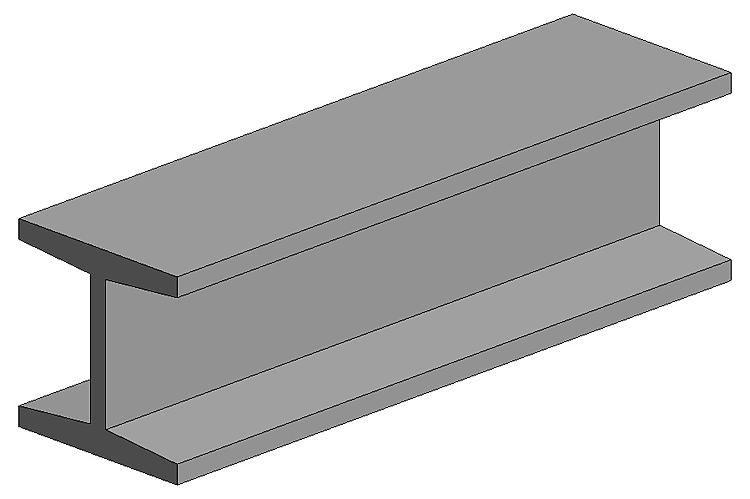 H-Profil, 350x6,3x6,0 mm - 1/4, 2 Stück