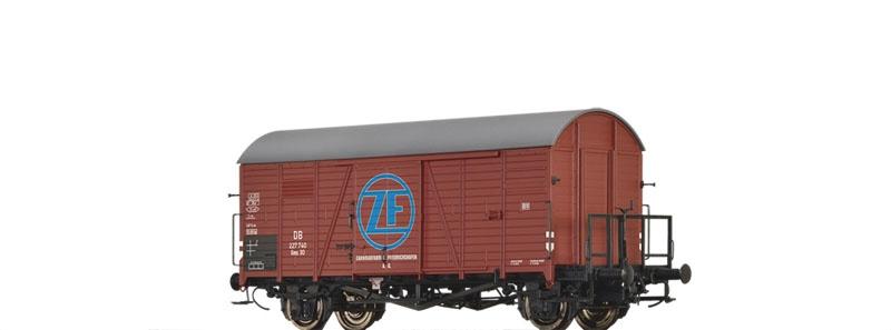 Gedeckter Güterwagen Gms 30/Oppeln, ZF, DB, DC, Spur H0