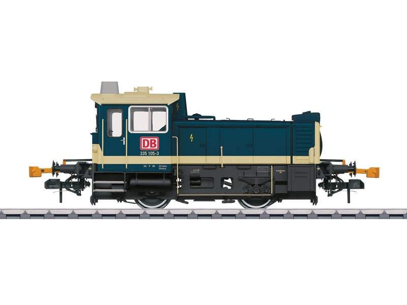Dieselkleinlokomotive BR 335 Köf III Magerkeks DB AG Spur 1