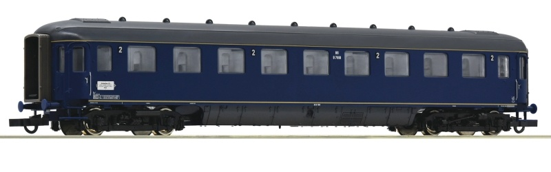 Schnellzugwagen 2. Klasse Plan D der NS, DC, Spur H0