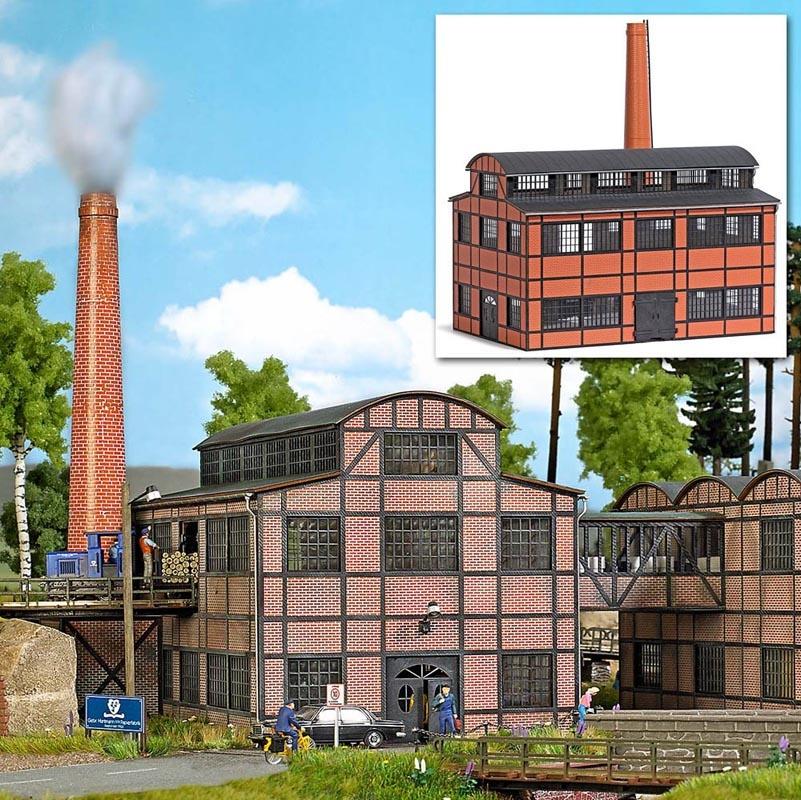 Fabrikgebäude (Produktionshalle), Spur H0