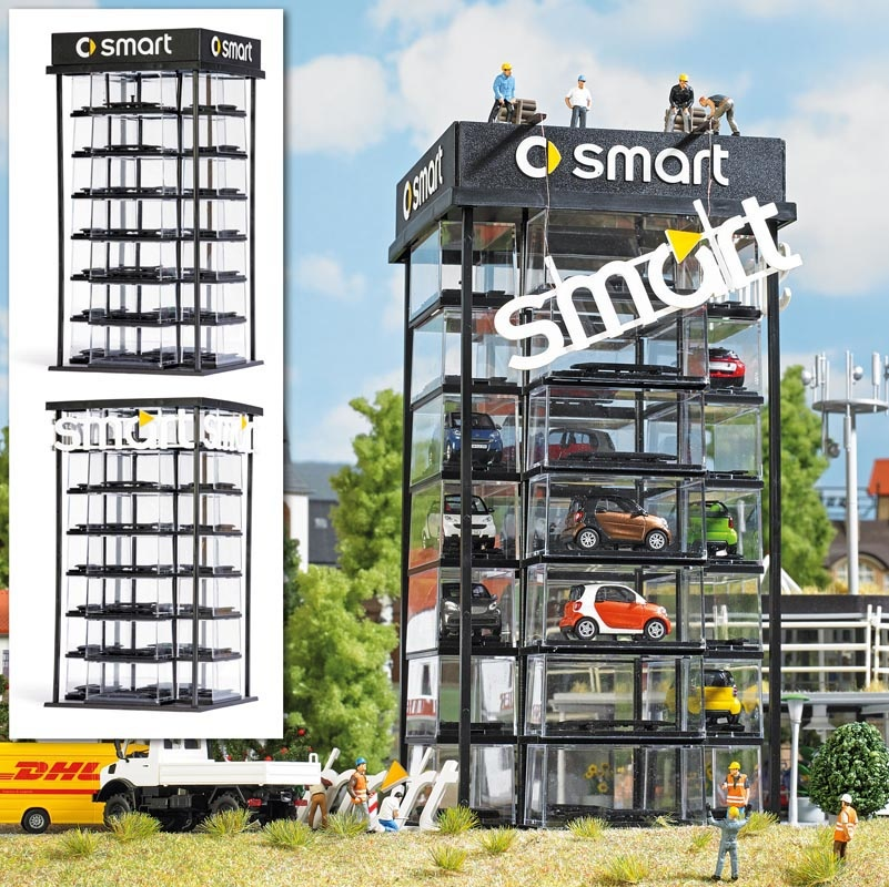 Smart Car Tower Bausatz, Spur H0