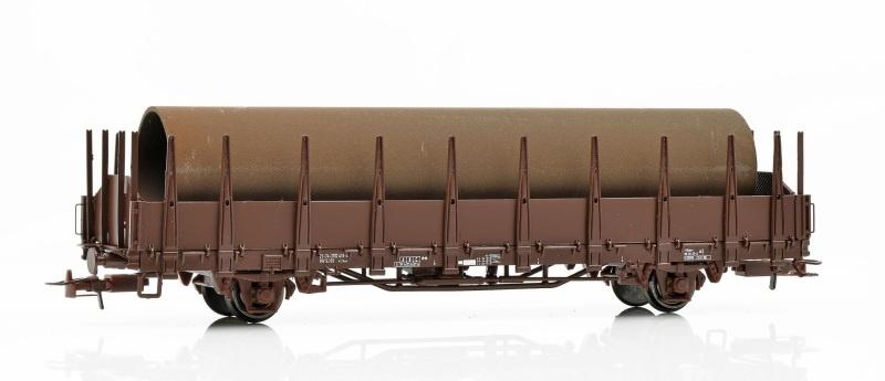 Topline Rungenwagen Os der SJ, mit Beladung, Spur H0