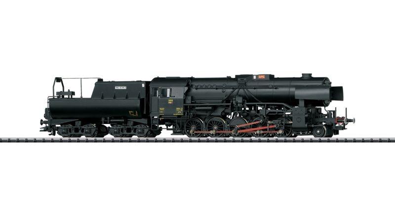 Dampflokomotive Reihe 5519 der CFL, mfx, Sound, DC, Spur H0