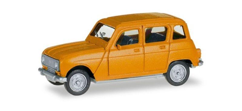Renault R4, narzissengelb, 1:87 / H0