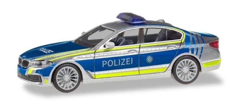 BMW 5er Limousine (G30) Lotsenfahrzeug Polizei München 1:87