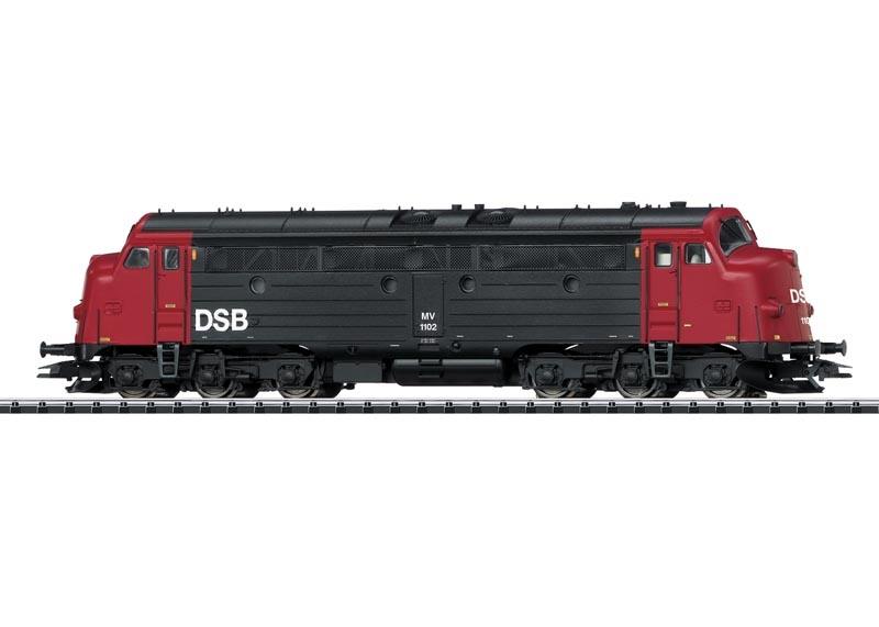 Diesellokomotive MV der DSB, Sound, mfx, DC, Spur H0