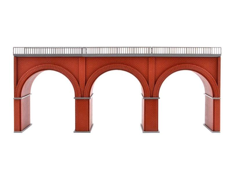 Backstein-Viadukt, Bausatz, Spur H0