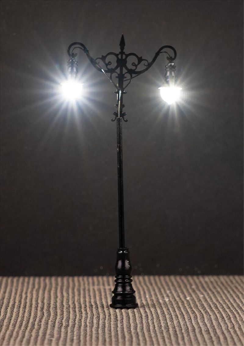 LED-Laterne, Kugel-Hängeleuchten, 3 Stück, H0