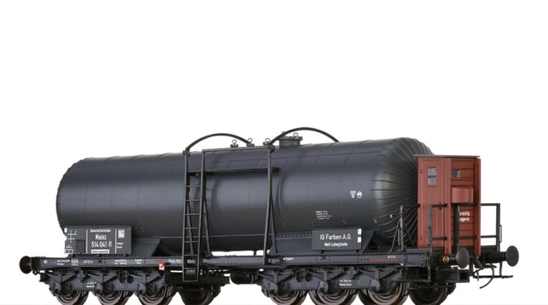Kesselwagen ZZd [P] DRG, II, DC, Spur H0