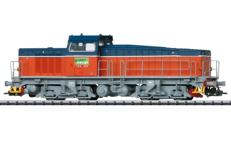 Schwere Diesellokomotive T44 Green Cargo, Sound, DC, Spur H0