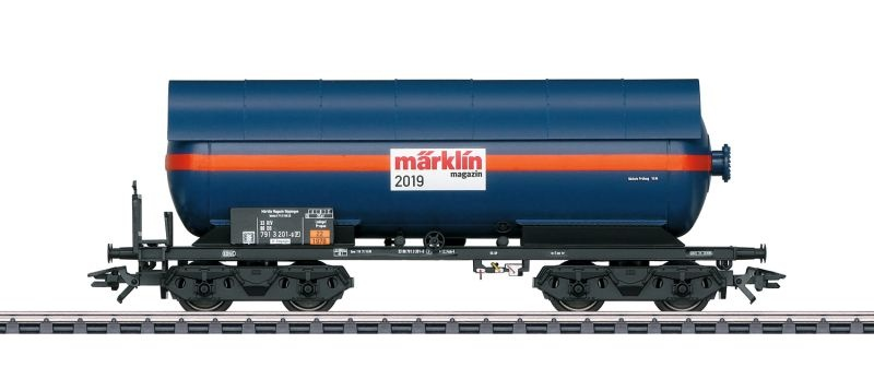 Druckgas-Kesselwagen DB, Magazin Jahreswagen 2019, Spur H0