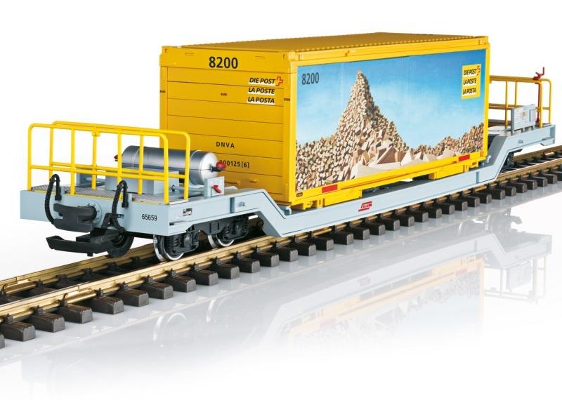 Containerwagen der RHB, Spur G